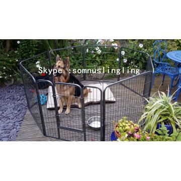 Chat de chien de cage de chien en métal de grande cage de chien de stylo de jeu
