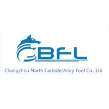 Brocas de compresión modificadas para requisitos particulares carburo de BFL, broca de la herramienta de corte del CNC