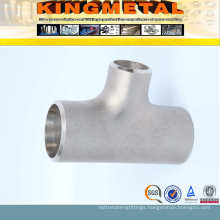 Stainless Steel Sch10s Welded Tee