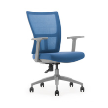 Grey color armchair for room or office