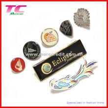 Kundenspezifischer Metall Revers Pin mit buntem Emaille