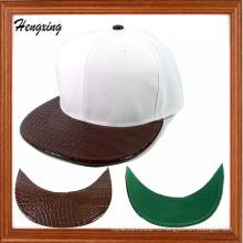 Плоский пик и змеиной snapback шляпы