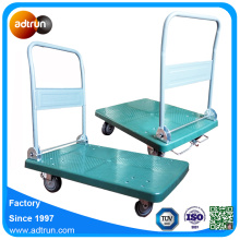 Lockable and Foldable Platform Cart Hand Trolley
