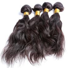 Onda natural del pelo indio 100% virginal de calidad superior