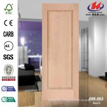 Outstanding Popular Sale African (JHK-001) Natural Molded HDF Beech Door Panel Manufacture