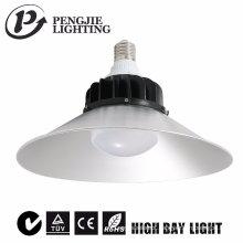 Luz alta industrial da baía do diodo emissor de luz do alumínio 30W superior quente da venda