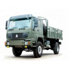 4 * 4 SINOTRUK HOWO Cargo camión / 4X4 HOWO camión de caja de carga / 4X4 HOWO camión de carga van LHD / RHD
