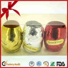 Hot Sale Christmas Decorate Eggs Beautiful Ribbon Egg