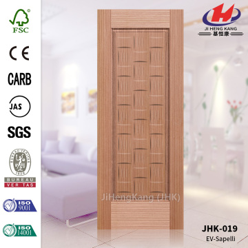 Natural Veneer Sapele HDF UAE Good Door Panel