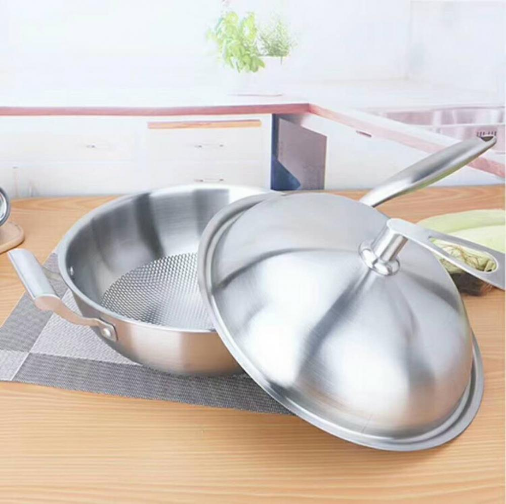 Stainless Steel Frying Pan 1810