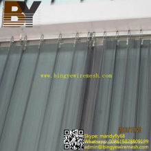 Rideau métallique décoration métallique draperie