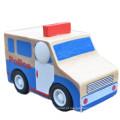 FQ marca educacional baby model craft mini brinquedo de madeira kids car