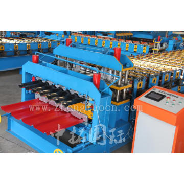 Desain baru Double Layer Roll Forming Machine