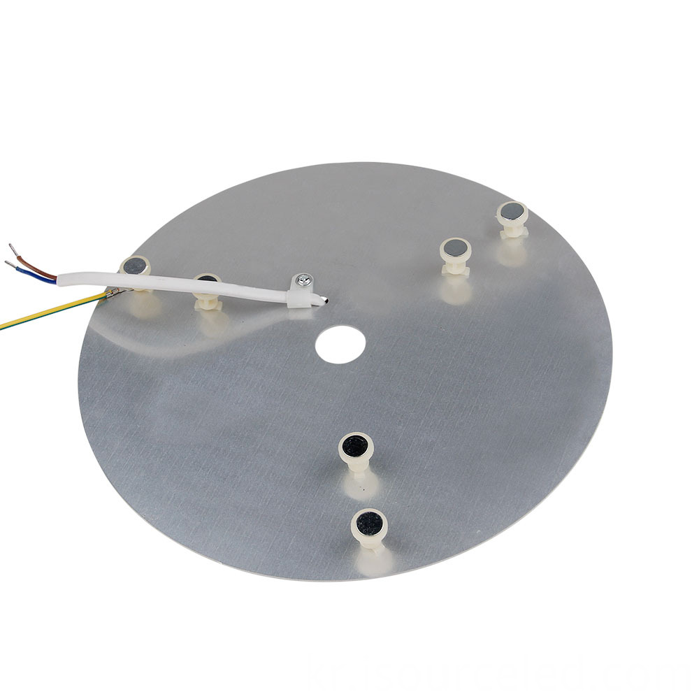 Dimming smd 2835 Round 24W AC COB Module bottom