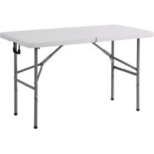 4FT Plastik Rechteck Klapptisch, Esstisch, Camping Tisch