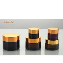 Frasco de vidro do recipiente de vidro do frasco de vidro da amostra grátis com tampa de selagem (NBG17)