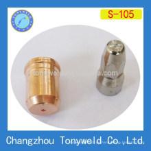 Trafimet S105 Luft-Plasma-Schneiddüse und Elektrode