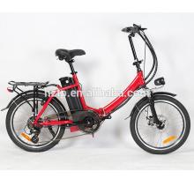 20 '' alliage cadre mode pédale assisté chopper vélo pliant vélos électriques chopper vélos