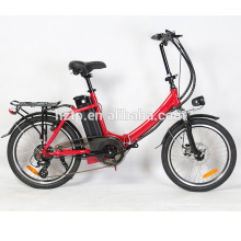 20'' alloy frame fashion pedal assisted chopper bike folding electric bikes chopper bikes