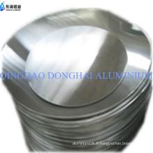 3003 plaque ronde en aluminium