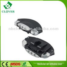 Baseball-Kappe eingebaute LED-Plastik Nachtsicht 5 LED-Kappenlicht
