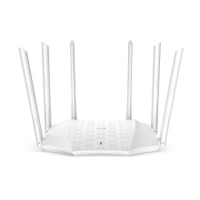Tenda AC21 WiFi Router Amplifier 2100M Dual-band Gigabit Version 2.4GHz 5GHz WiFi Repeater 6 Antenna Network Expander