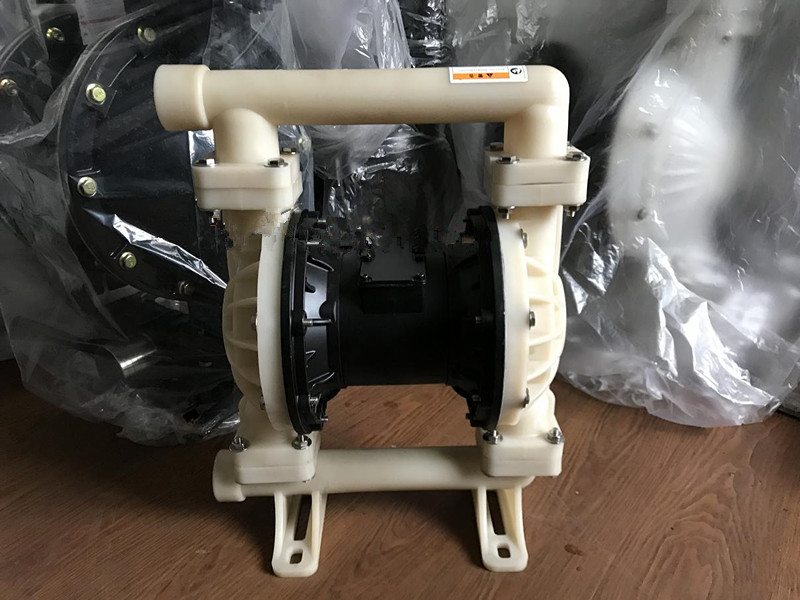 QBY3-40FF perfluoroplastic third generation pneumatic diaphragm pump 2