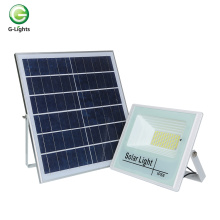 Light sense remote control abs IP66 waterproof outdoor Gas station 25w 40w 60w 100w modern solar led flood lights
