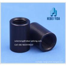 Building Material Standard Straight thread rebar coupler, screw rebar connector