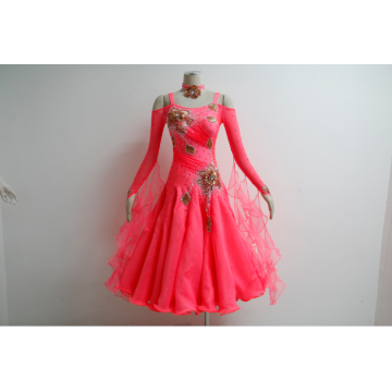 Girls Ballroom Dresses pink