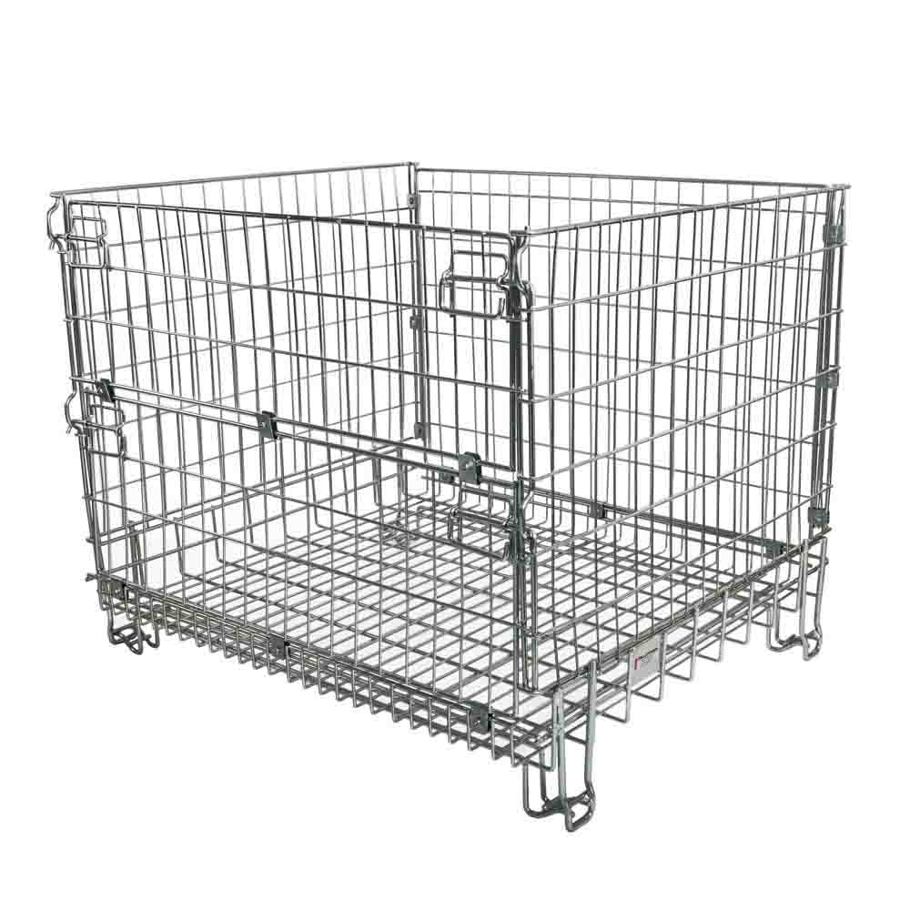 Good Quantity Stackable Mesh Pallet Cages China Manufacturer