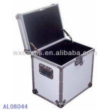 caixa de alumínio forte e portátil com forro dentro de EVA
