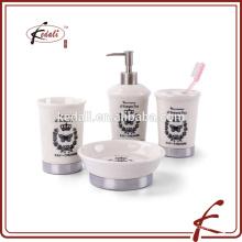 Fancy Design Set de banho de cerâmica branca
