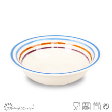 Мульти-Цветовой Круг Керамическая Плита Супа