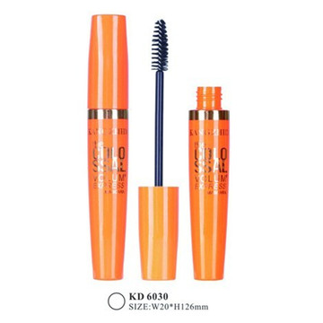 Plump Orange Plastic Mascara Tube