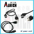 Cordon d'alimentation de l'Ac UL Standard Home Appliances