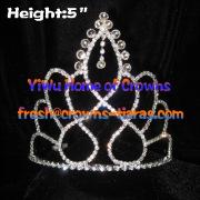 5 en diamante clara desfile coronas