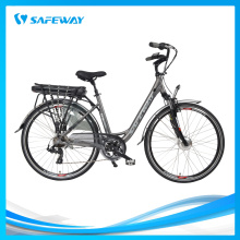 Mechanical winding brake city electric bike