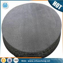 0.5 10 15 20 микронов сталь спеченный диск фильтра нержавеющей для масла фильтр для воды