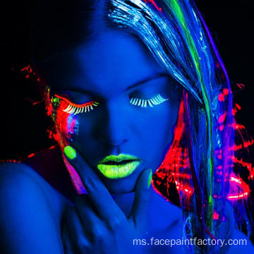 Neon Glowing Paint for Christmas Party