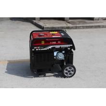 Generador de gasolina 5kw generador manual para Astra Corea