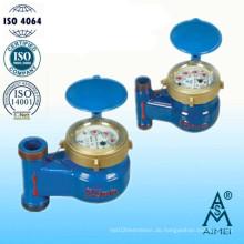 Multi Jet Drehschieber Rad Vertikale Wasserzähler