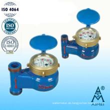 Multi-Jet Drehschieber Rad vertikale Wasserzähler