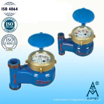 Compteur d'eau Vertical de Multi Jet pompes à palettes rotatives roue