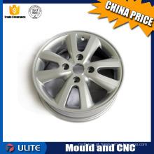 Produção de precisão de roda de liga de alumínio, modelo de auto peças de processamento CNC