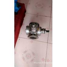 Pompe à engrenages d'huile de pompe en acier inoxydable série YCB