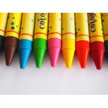 Crayon de cire de couleur vive non-toxique de haute qualité fournisseur de la Chine Dh-0212c