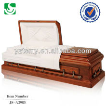 Simplified fashionable custom matte painted casket
