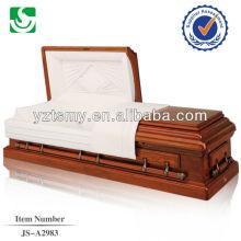 Simplificado fosco personalizado elegante pintado caixão
