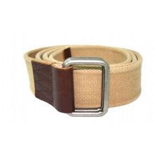 3.8cm width beige webbing Jeans belts for -KL0026